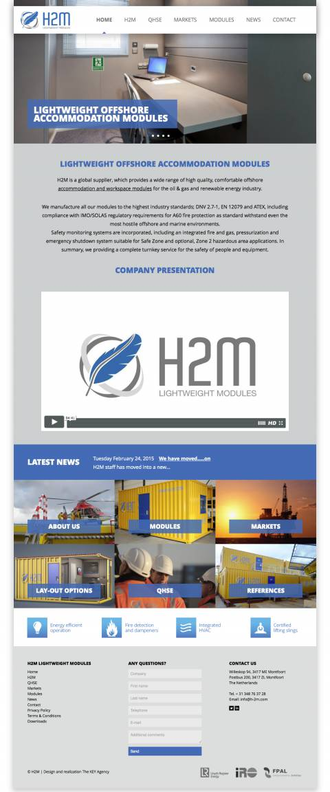 Home - H2M | The future of accommodation modules