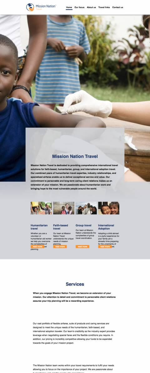 Home - Mission Nation Travel