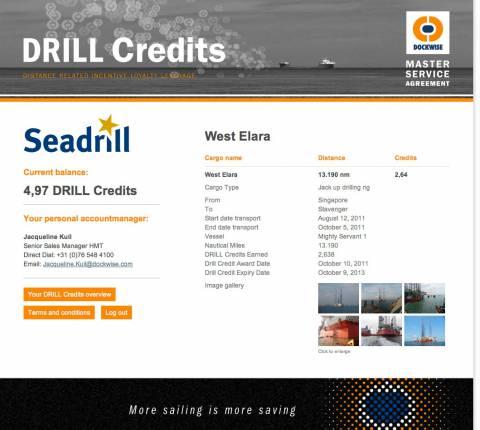 Dockwise DRILL Credits